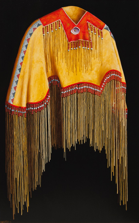 """Northern Plains Pony Beaded Cape"""