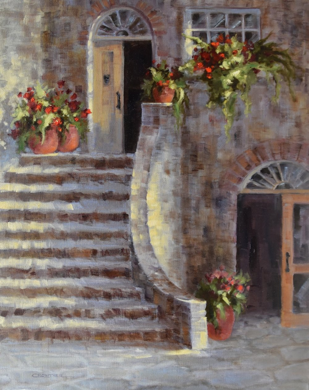 """Courtyard Steps"""