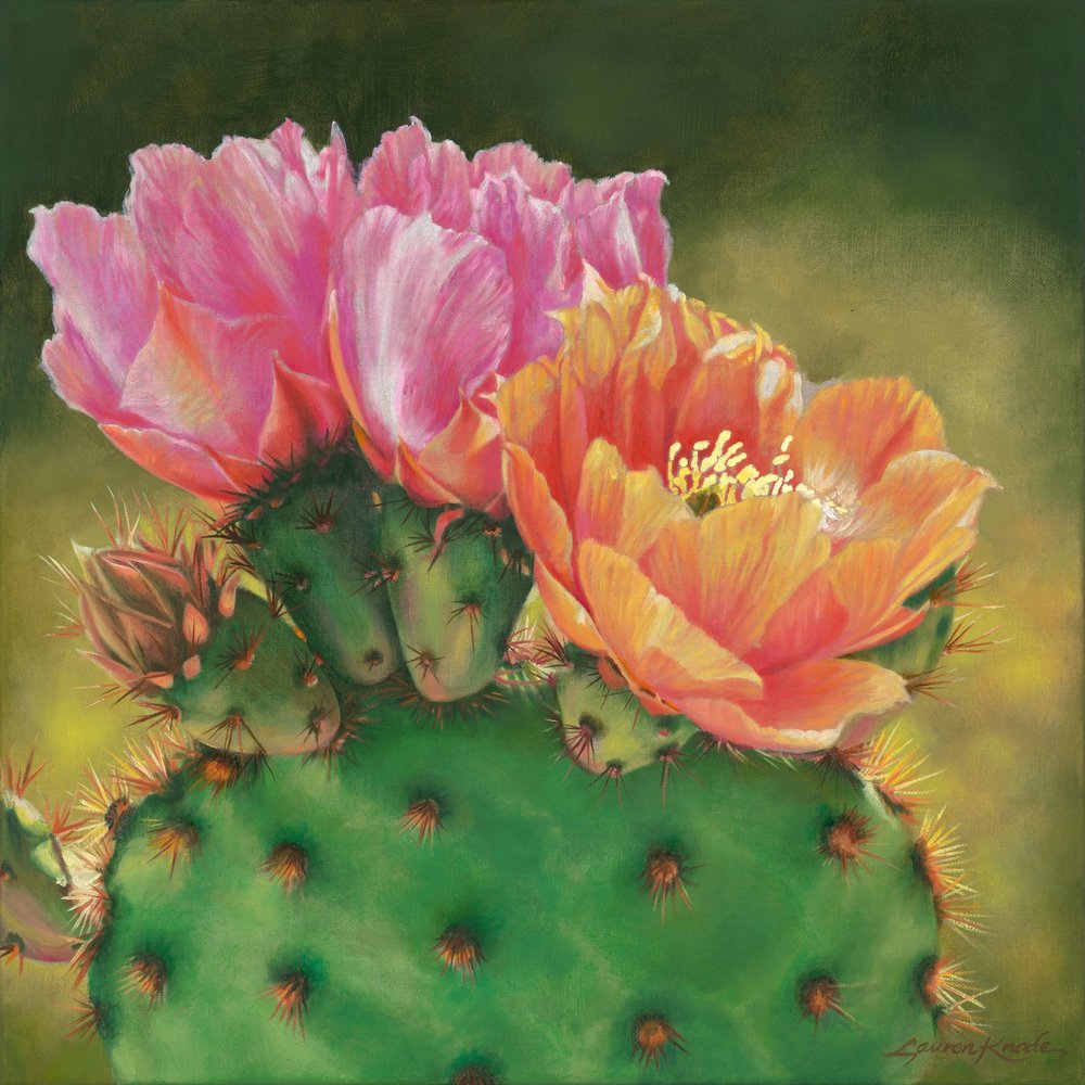 """Prickly Pear Trio II"""