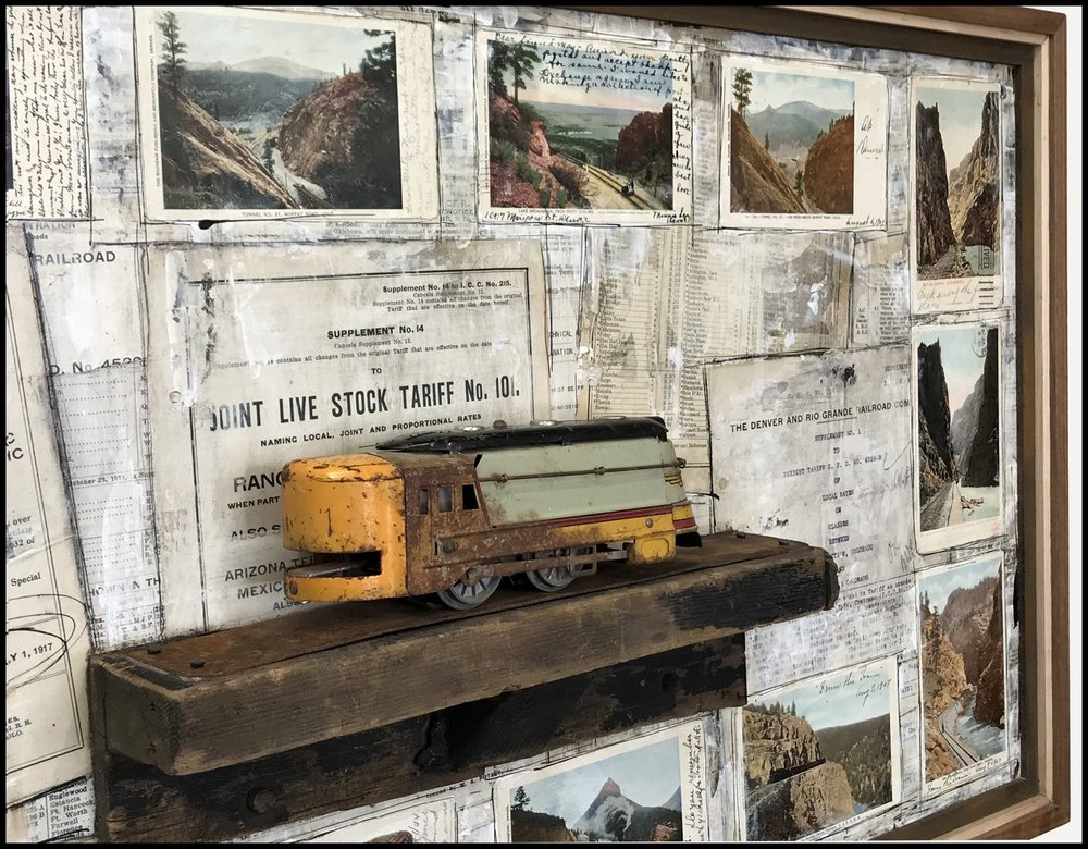 """Postcards from Yesteryear"" (close up)"