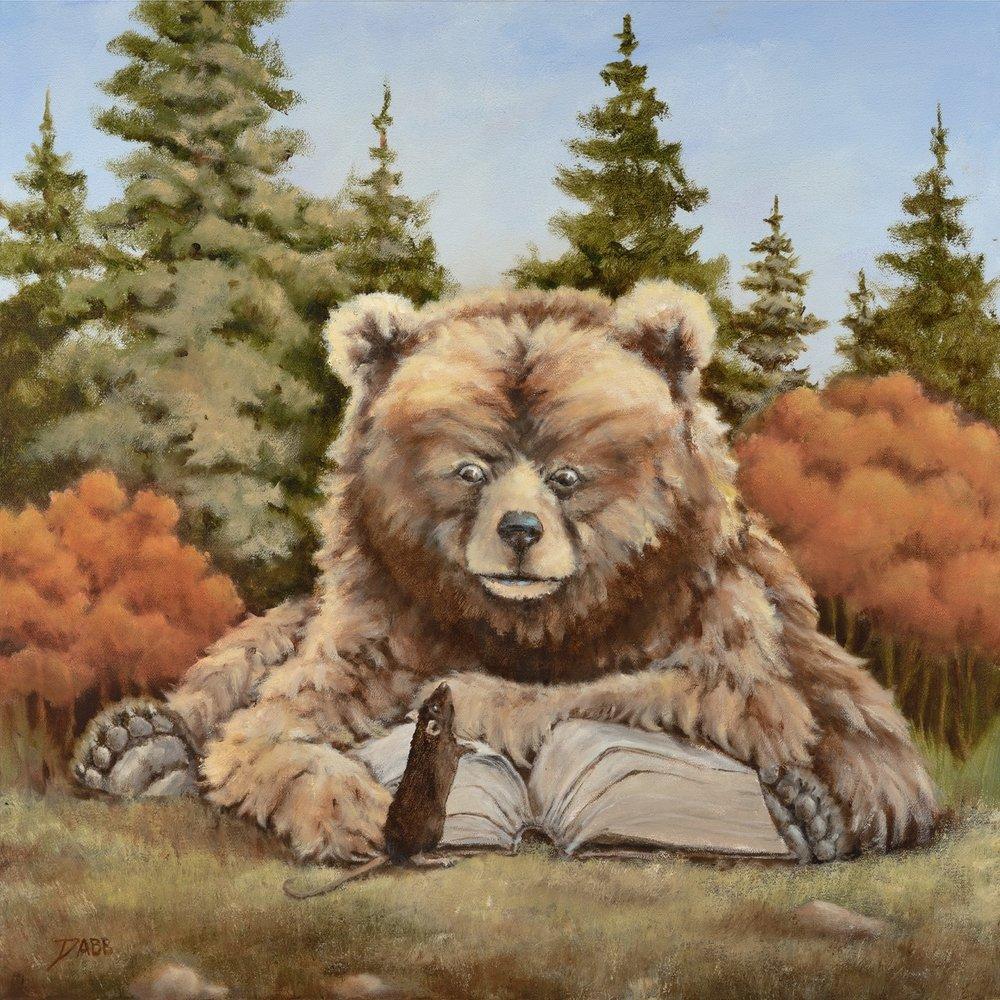 """""""Professor Bear"""""""