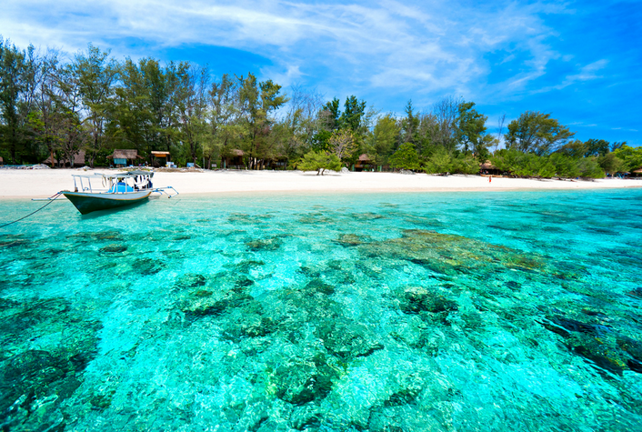 4. Gili Islands, Bali