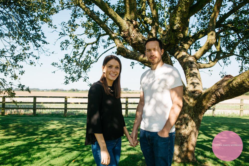 Victoria Baker Weddings Engagement shoot North Yorkshire