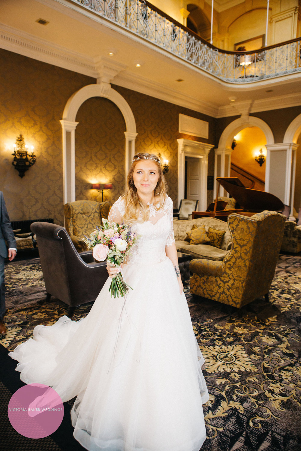 Bride at Oulton Hall Leeds