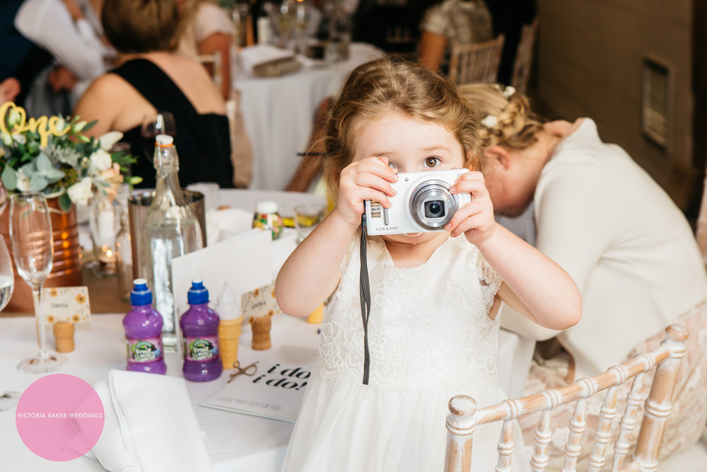 Best Wedding Photographs 2016 - baby with camera