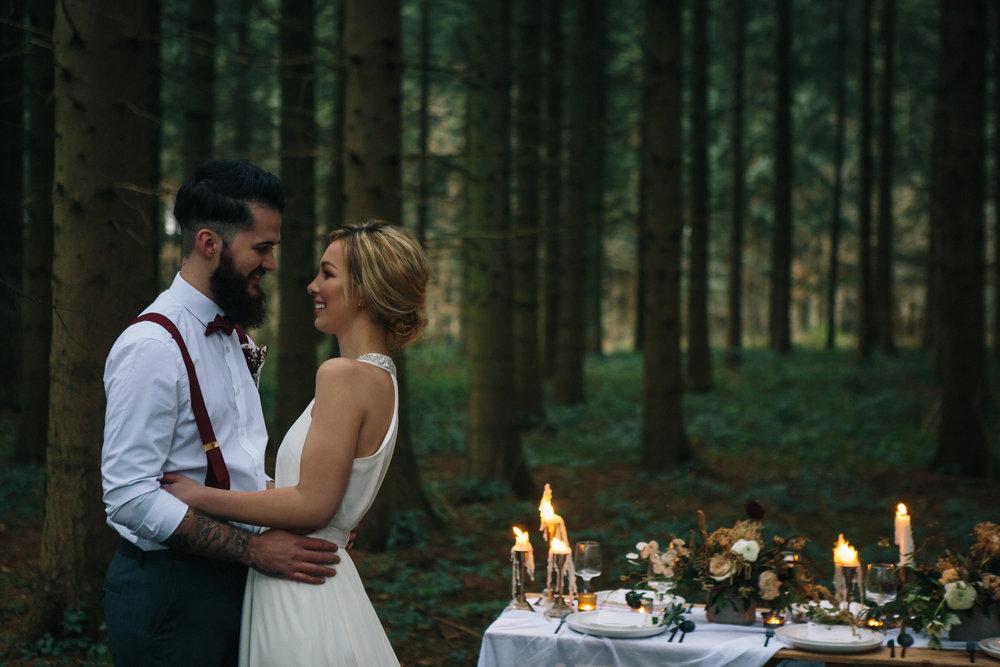 April & Chris Styled Wedding Shoot Camp Katur