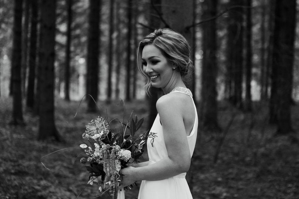 April Bride at Styled Wedding Shoot at Camp Katur
