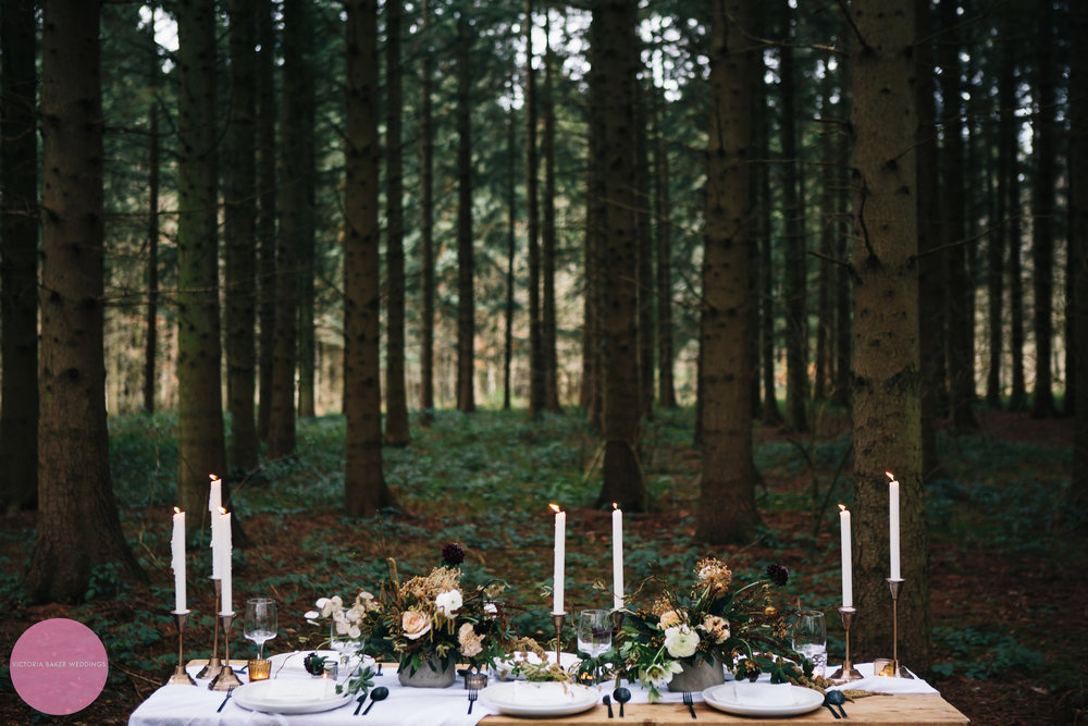 Wedding Table Design at Camp Katur