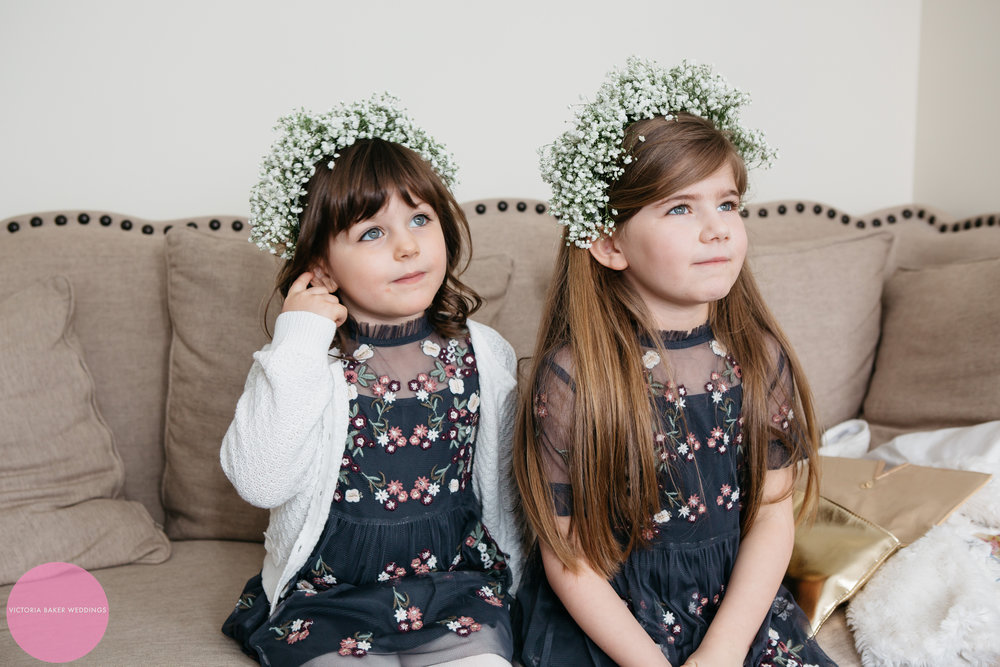 Flower girls | Wedding Leeds