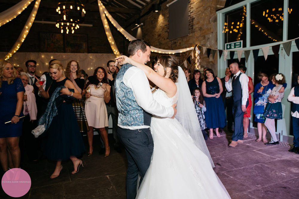 Bride and Groom First Dance Oakwell Hall Leeds