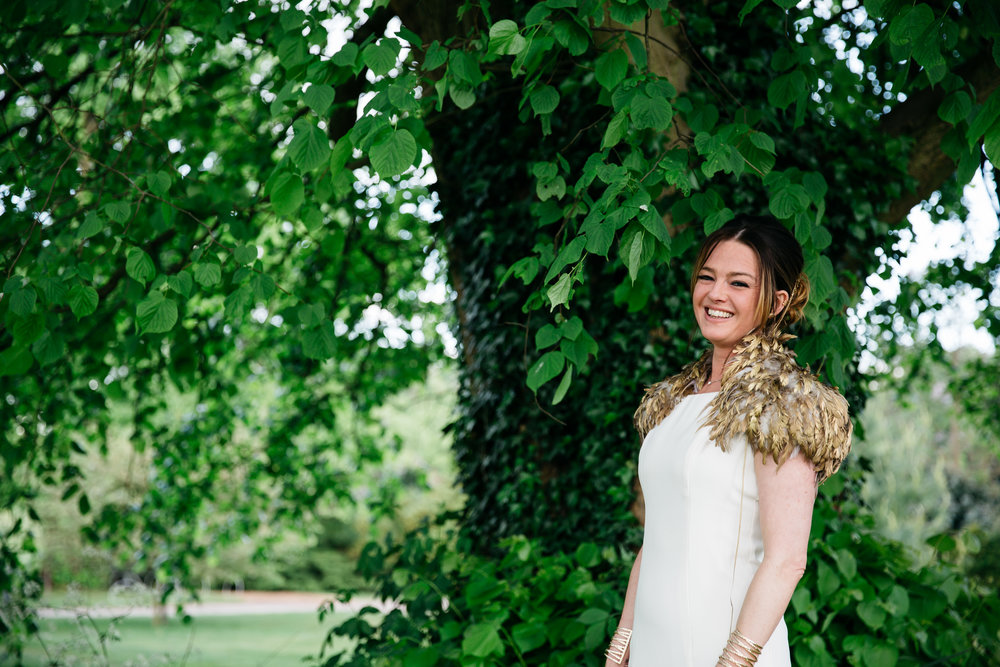 Bride at Moor Park Golf Club Rickmansworth