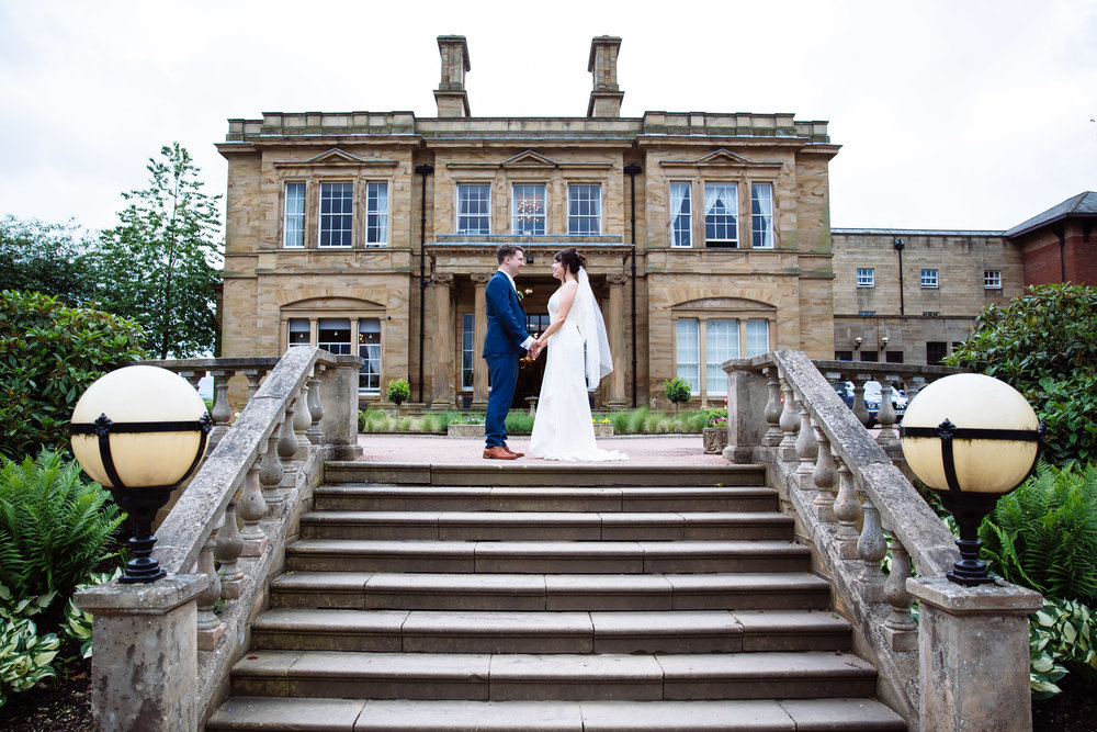 Danielle & Jonathan Wedding Oulton Hall Leeds