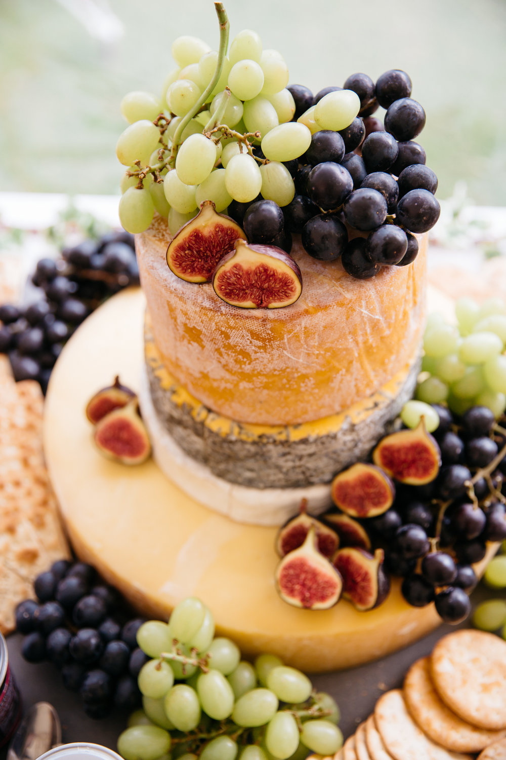 Wedding Cheese Cake at Broughton Hall