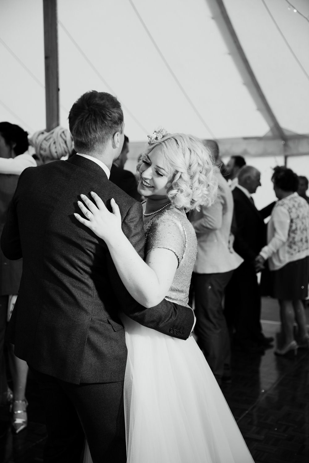 Bride and Groom First Dance at Broughton Hall