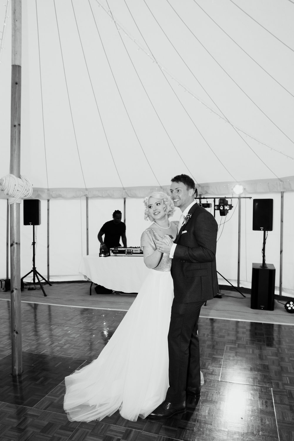 Bride and Groom First Dance Broughton Hall