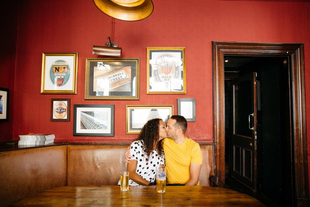 Leicia & Dan's engagement shoot The Adelphi Leeds