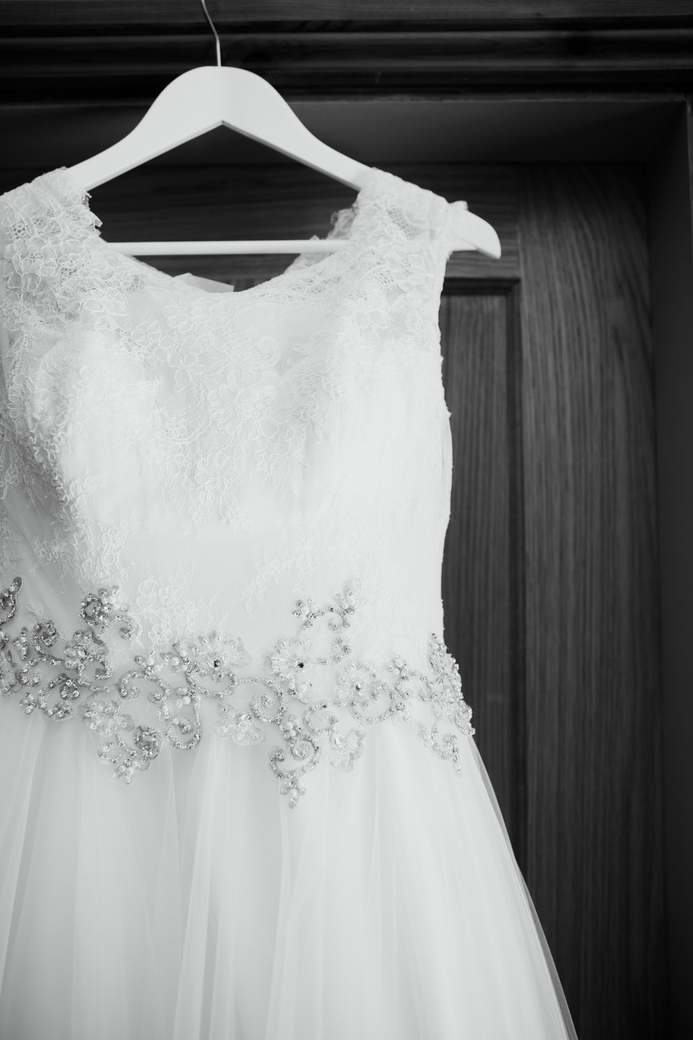 Wedding Dress Victoria Baker Weddings black and white