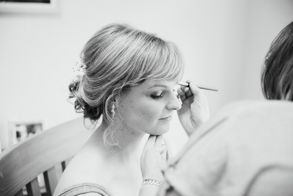 Wedding hair and makeup Leeds Victoria Baker Weddings