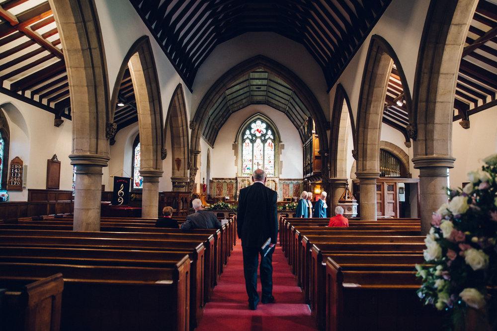 Church wedding North Yorkshire