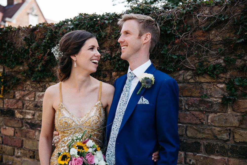 Bride and Groom London Wedding Photographer