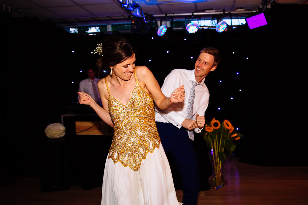 Bride and Groom First Dance to Prince London Wedding
