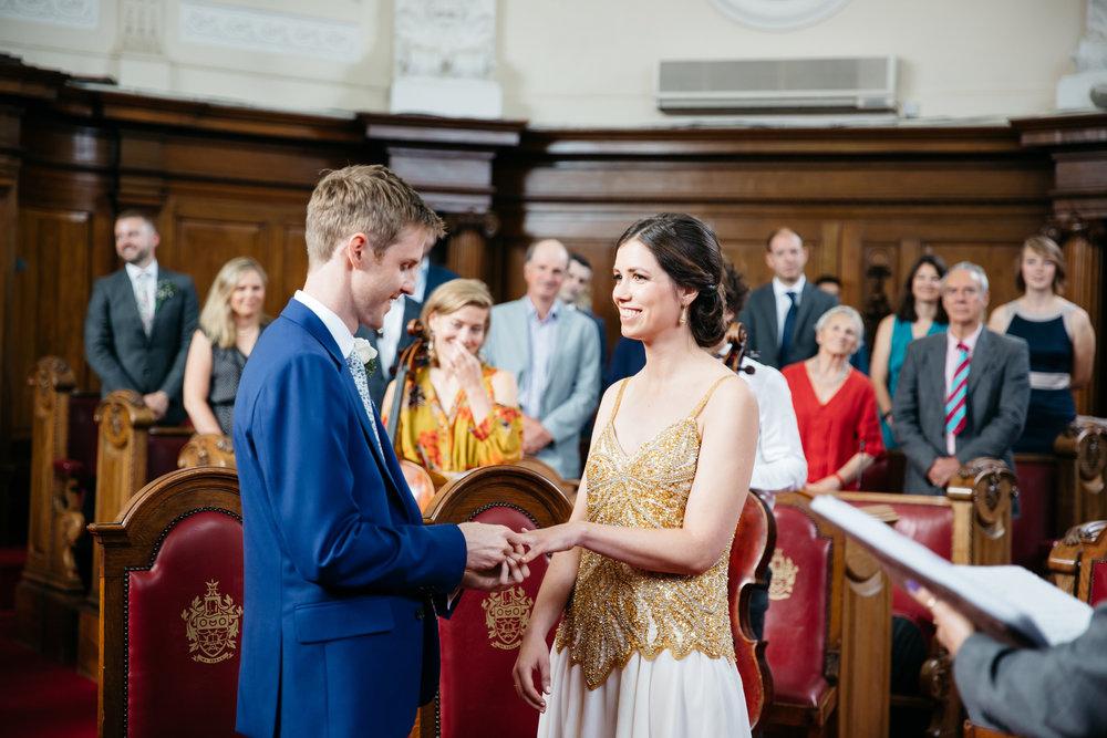 Wedding Ceremony Islington Town Hall