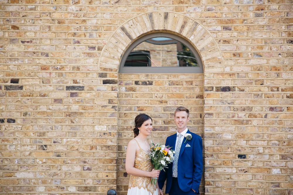 Bride and Groom East London