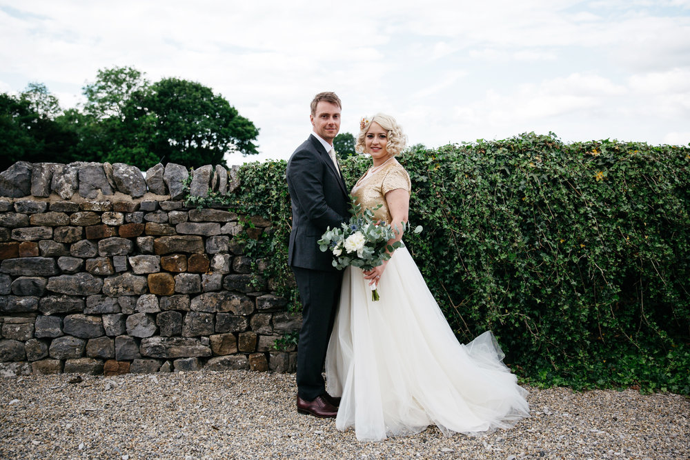 Adam & Lydia at Eden House at Broughton Hall