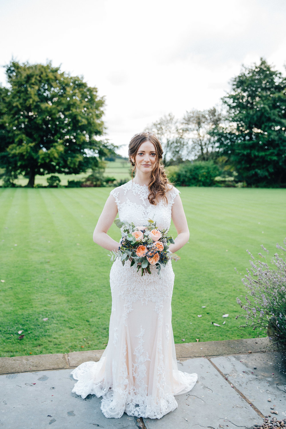 Bride at Falcon Manor Wedding Photographer Yorkshire
