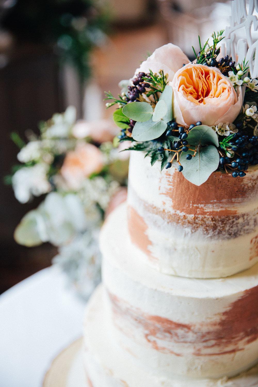 Wedding cake at Falcon Manor Wedding Photographer Yorkshire