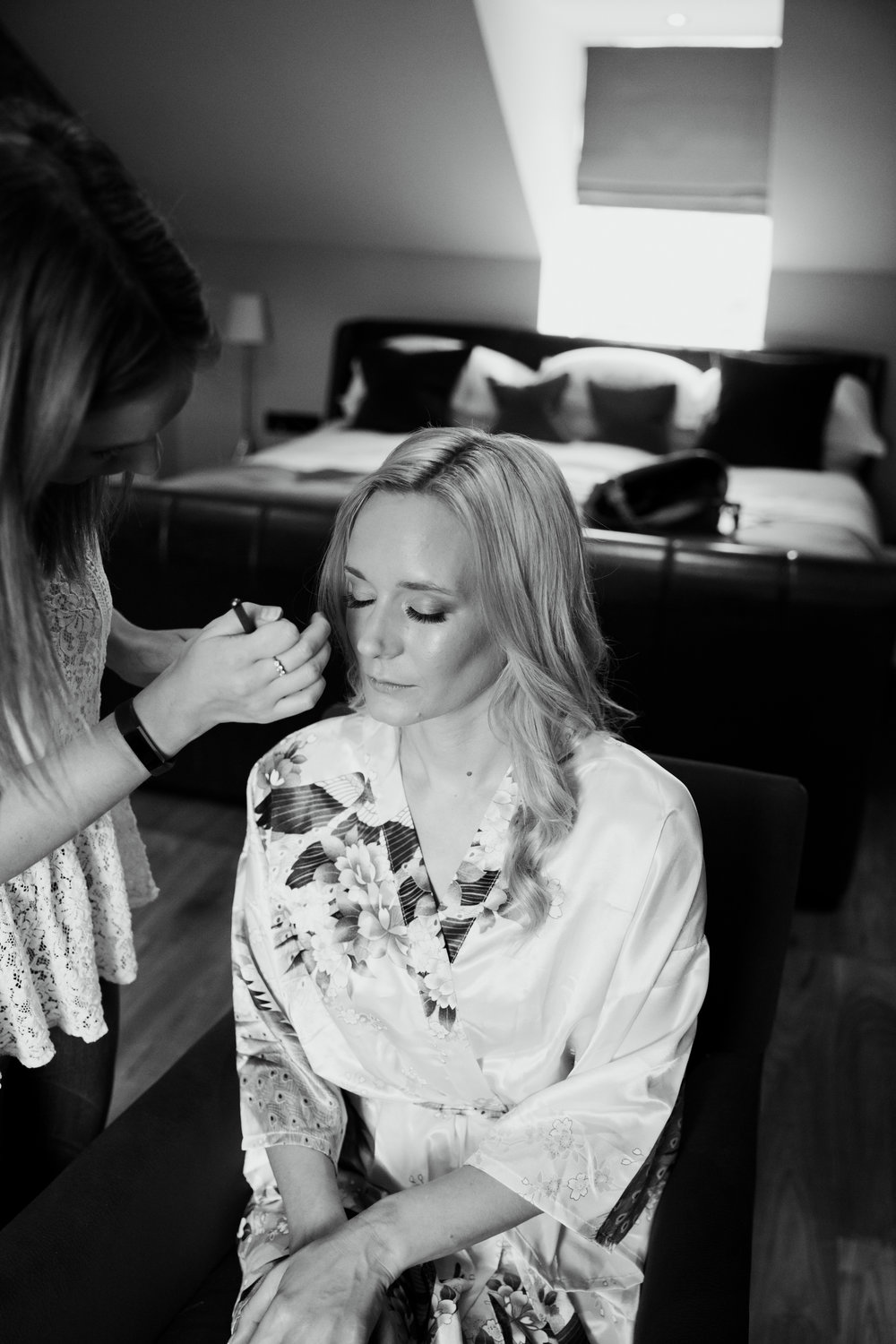 BRIDAL HAIR AND MAKE UP AT HOTEL DU VIN HARROGATE