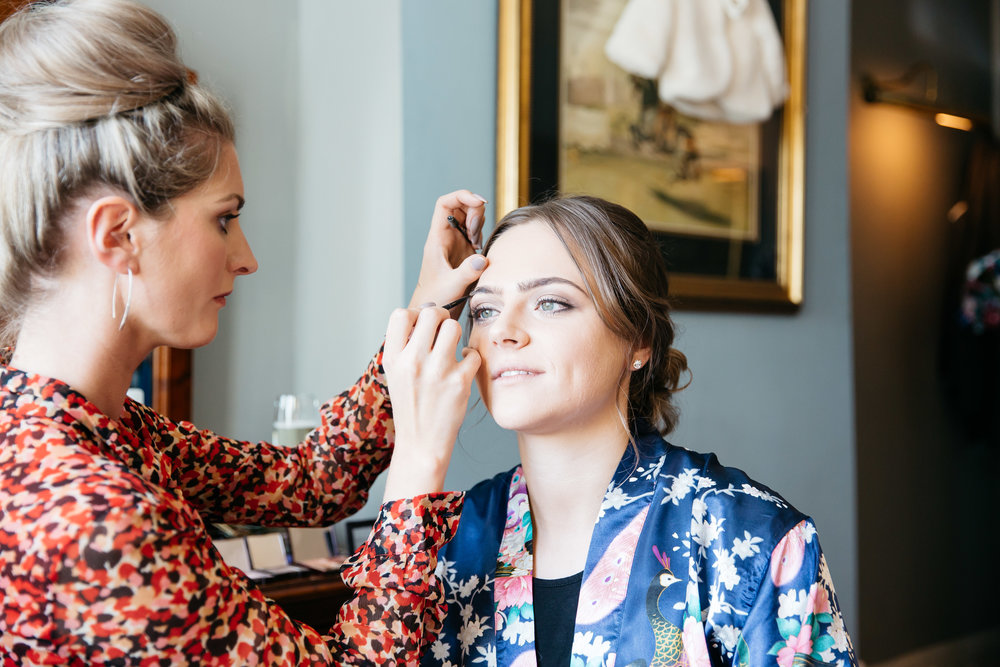 Bridesmaid Hair and Make up | Harrogate Wedding Photographer