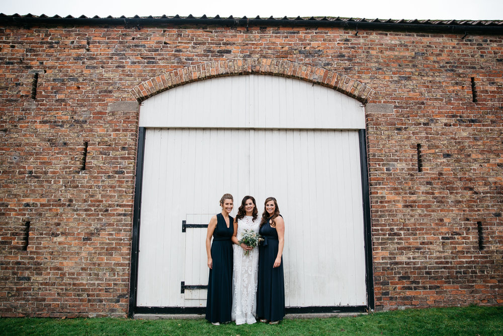 Bride and her bridesmaids | Harrogate Wedding Photographer