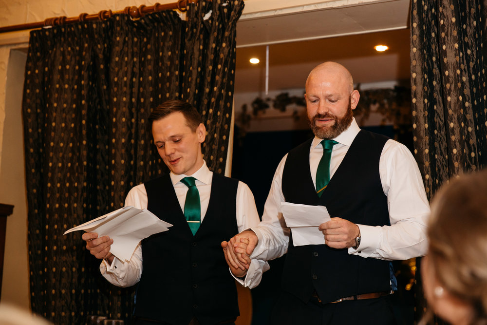 Best Men speech | Harrogate Wedding Photographer