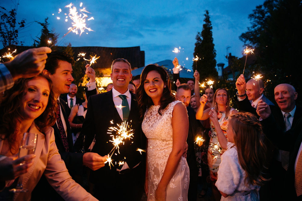 Wedding Sparklers | Harrogate Wedding Photographer