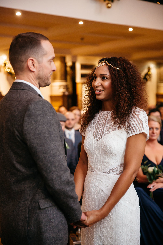 Leicia & Dan wedding ceremony at Aspire Leeds | Aspire Leeds wedding Photographer