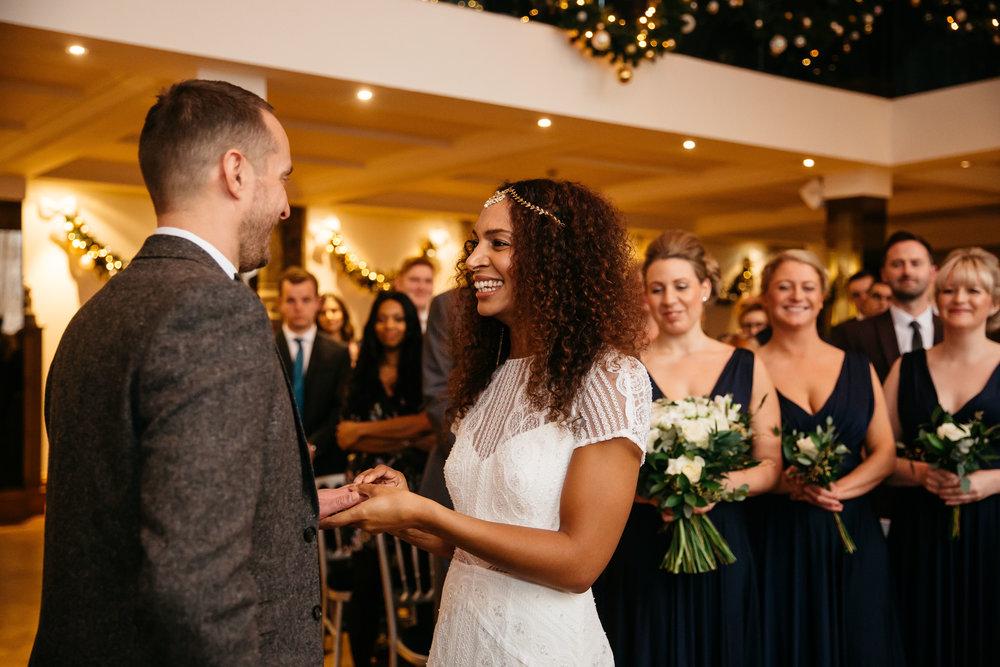 Just married at Aspire Leeds | Aspire Leeds wedding Photographer
