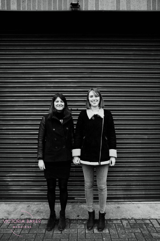 Vanessa & Hannah Engagement shoot London