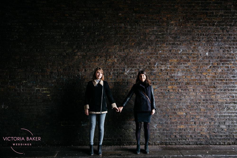 Vanessa & Hannah Engagment photography London