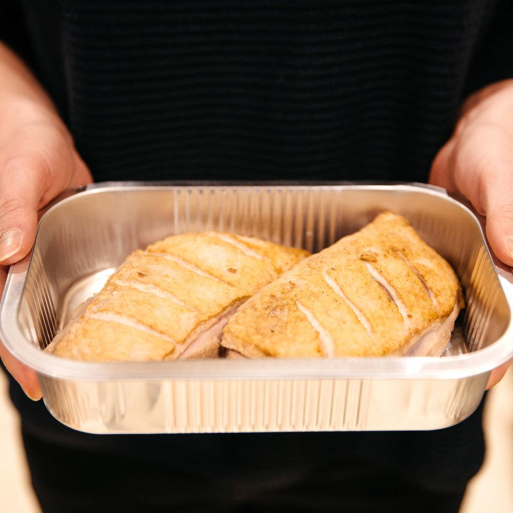 Preparing Dine Delivered Package