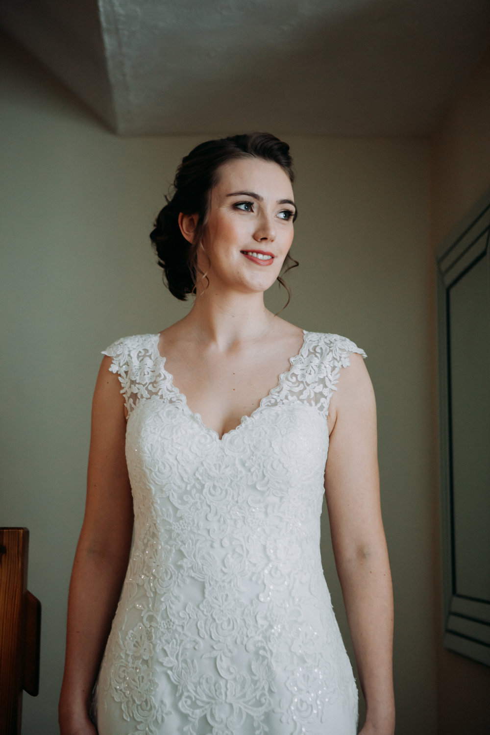 Beautiful bride Hannah at The Chilterns wedding