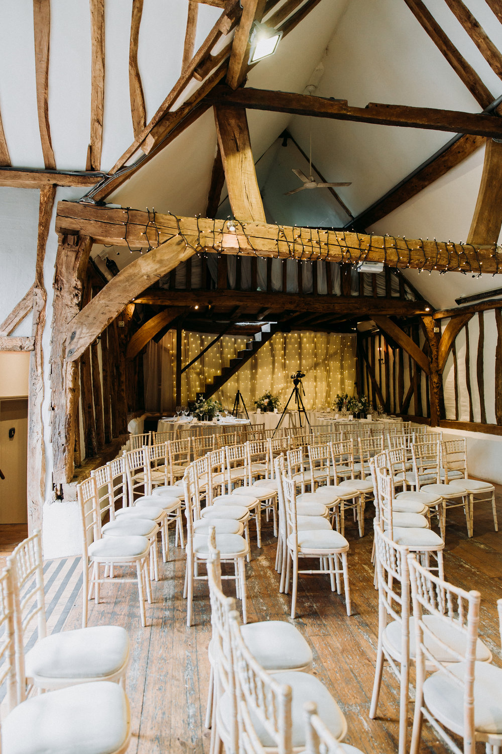 Old Luxter's Barn wedding venue at at Old Luxter's Barn at The Chilterns wedding