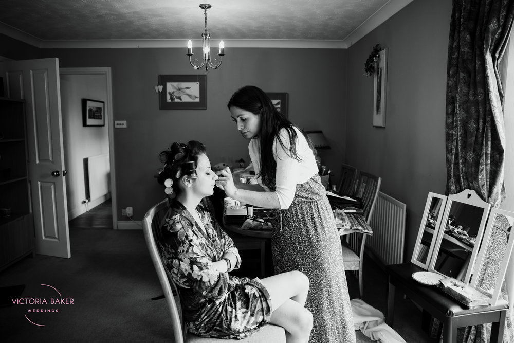 Emma getting ready | Creative Yorkshire Wedding Photographer