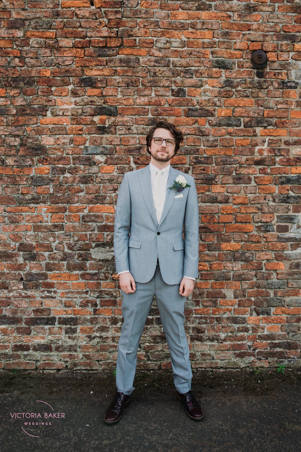 The Groom at Barmbyfield Barn | Creative Yorkshire Wedding Photographer