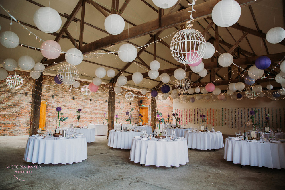 DIT Wedding decor at Barmbyfield Barn | Creative Yorkshire Wedding Photographer