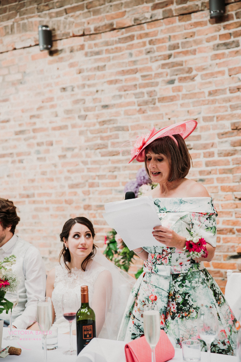 Speeches at Barmbyfield Barn | Creative Yorkshire Wedding Photographer