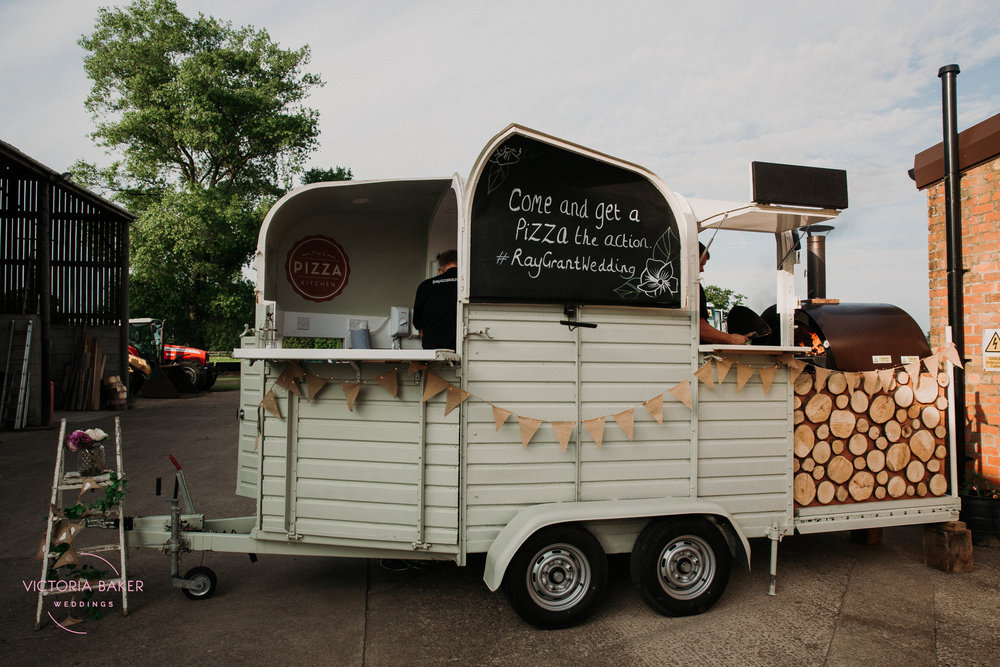 The Pizza Kitchen at Barmbyfield Barn | Creative Yorkshire Wedding Photographer