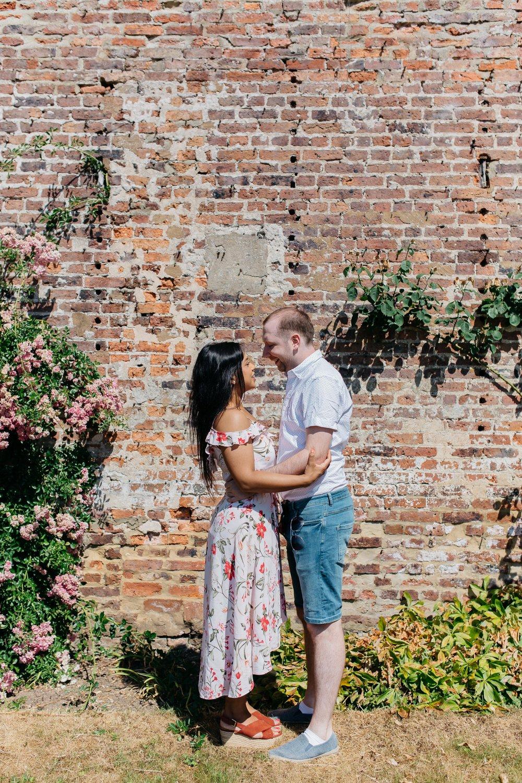 Olivia & Alex Engagement Session Ripley Castle