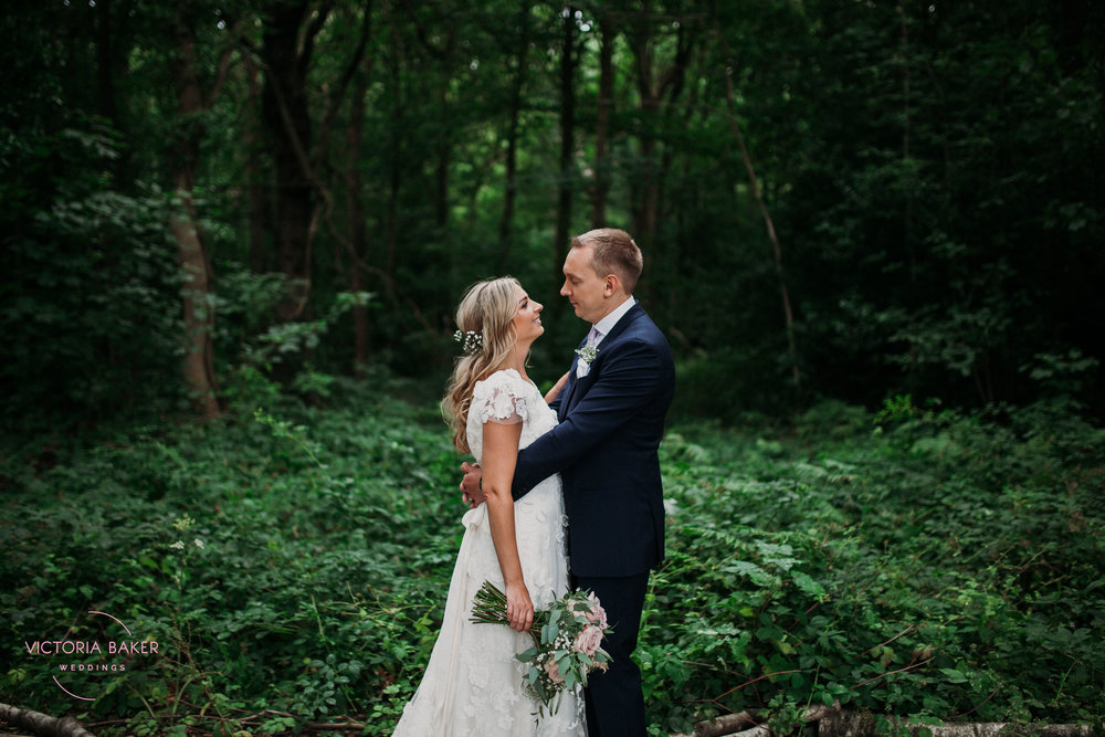 Emily & Adam Woodland Sheffield Wedding