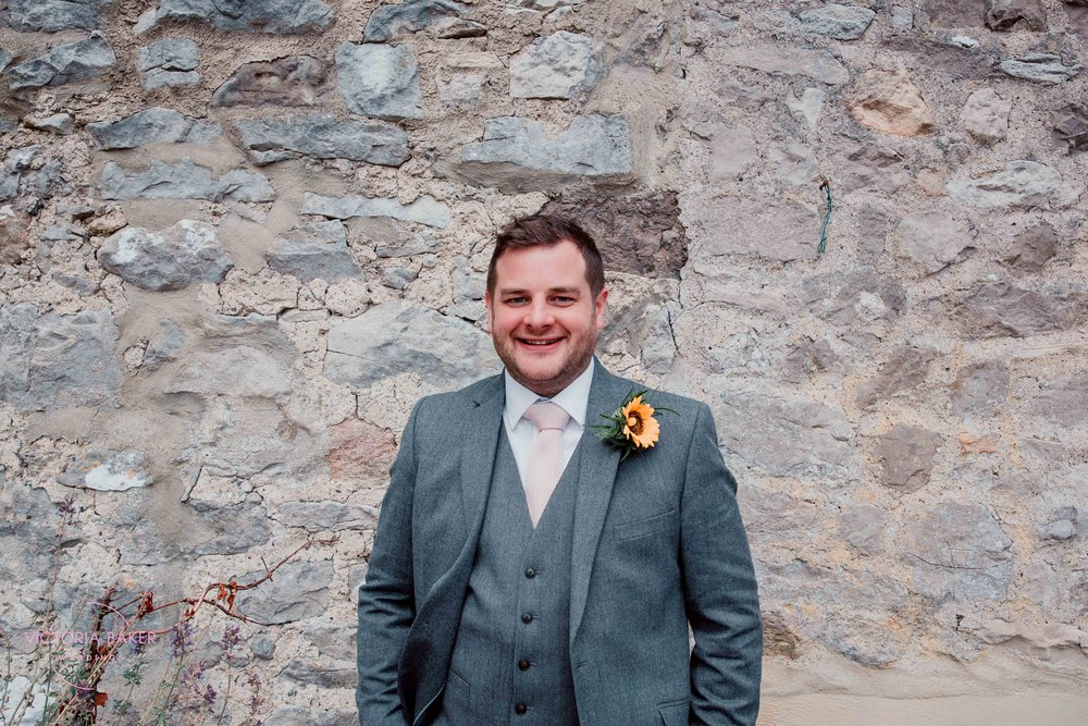 Nervous Groom at Kilnsey Park Estate Wedding Photography